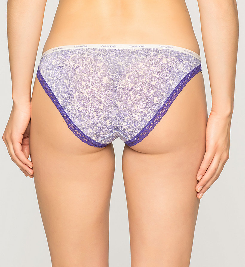 CALVINKLEIN Bikini - Bottoms Up - ENDLESS FLORAL (STIMULATE LAC - CALVIN KLEIN UNDERWEAR - detail image 1