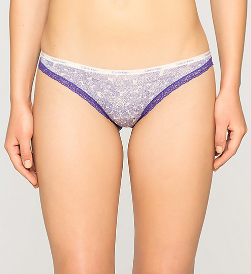 CALVINKLEIN Slip - Bottoms Up - ENDLESS FLORAL (STIMULATE LAC - CALVIN KLEIN DAMES - main image