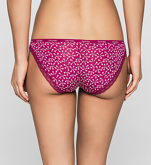 Bikini-Slip - Bottoms Up - VISONARY FLORAL_FATHOM (FATHO - CALVIN KLEIN  - main image 1