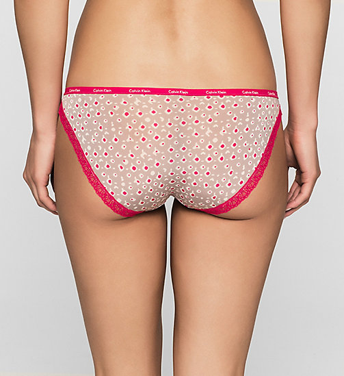 Bikini - Bottoms Up - INTUITIVE PRINT (TRANSPINK LA - CALVIN KLEIN UNDERWEAR - detail image 1
