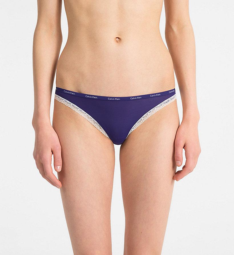 Calvin Klein - Bikini Brief - Bottoms Up - 1