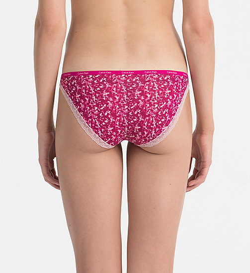Bikini - Bottoms Up - MINIMIZING PRINT_INDULGE - CALVIN KLEIN WOMEN - detail image 1