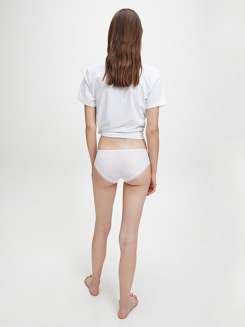 CALVINKLEIN Hipsters - Bottoms Up - WHITE - CALVIN KLEIN WOMEN - detail image 2