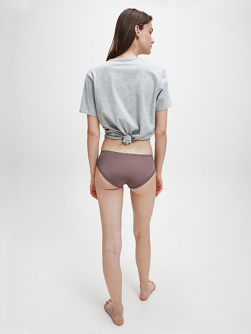 CALVINKLEIN Shorty - Bottoms Up - SMOKE - CALVIN KLEIN SOUS-VÊTEMENTS - image détaillée 2