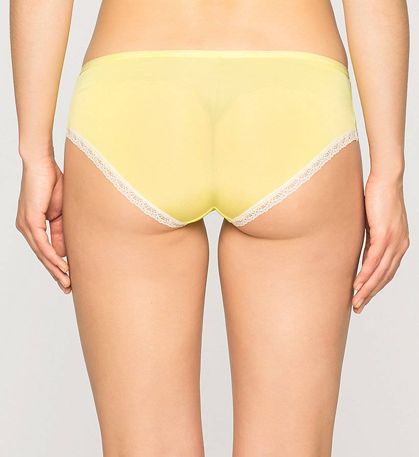 CALVINKLEIN Shorty - Bottoms Up - FLASH (IVORY LACE) - CALVIN KLEIN SOUS-VÊTEMENTS - image détaillée 1
