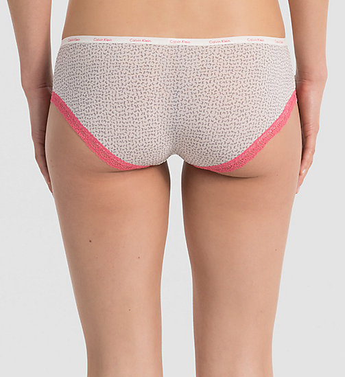 CALVINKLEIN Hipsters - Bottoms Up - LIVELY GEO (DESERT SUNSET LAC - CALVIN KLEIN VIP SALE WOMEN - detail image 1