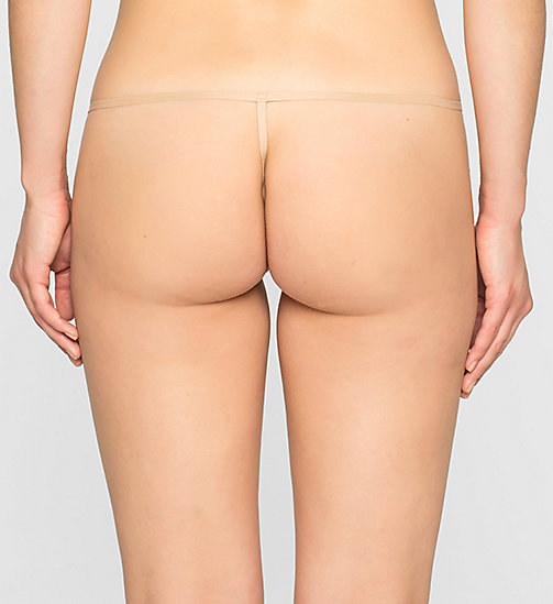 Thong - Sleek - BARE - CALVIN KLEIN UNDERWEAR - detail image 1