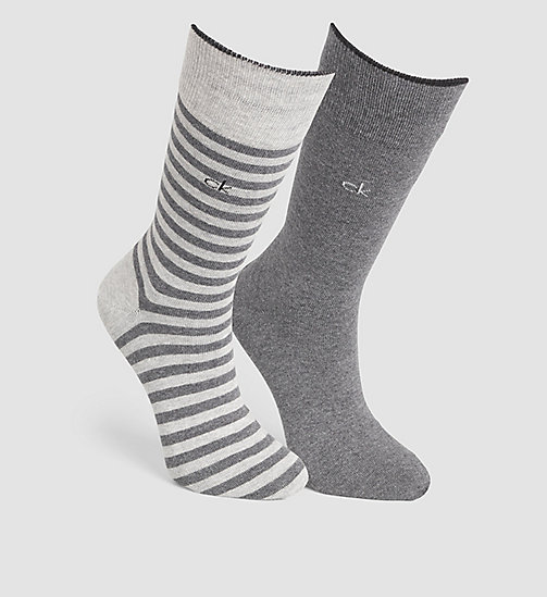 CALVINKLEIN 2 Pack Striped Socks - ASST.G59 - CALVIN KLEIN  - main image