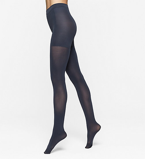 CALVINKLEIN Matte Shaper Tights - NAVY - CALVIN KLEIN SOCKS & TIGHTS - main image