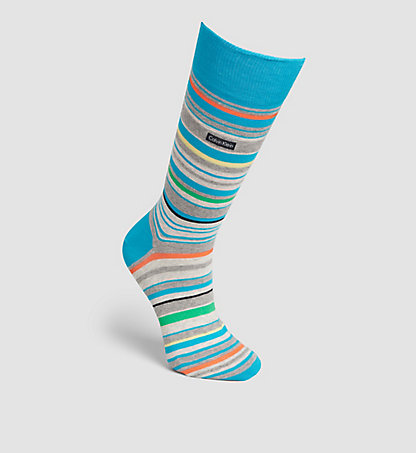 CALVIN KLEIN Striped Socks 0000ECP232LF2