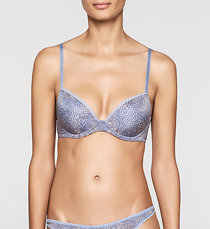 CALVIN KLEIN Push-Up Bra - Seductive Comfort 0000F2892EDI1