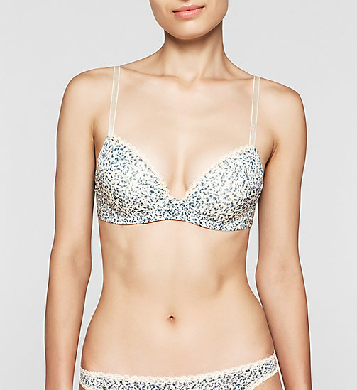 Demi Bra - Seductive Comfort - LAYERED ABSTRACT - CALVIN KLEIN UNDERWEAR - main image