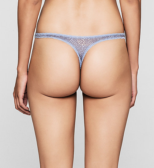 CALVINKLEIN Thong - Seductive Comfort - DELICATE SKIN (STAR FEEY PICO - CALVIN KLEIN WOMEN - detail image 1