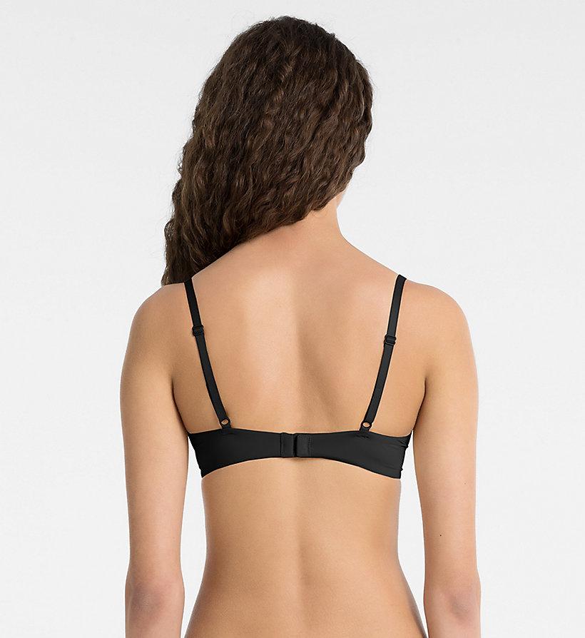 bra push positive black calvin klein underwear detail image 1. Black Bedroom Furniture Sets. Home Design Ideas