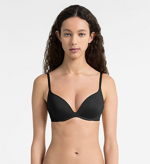 CALVINKLEIN Soutien-gorge push-up - Push Positive - BLACK - CALVIN KLEIN SOUTIENS-GORGE PUSH-UP - image principale