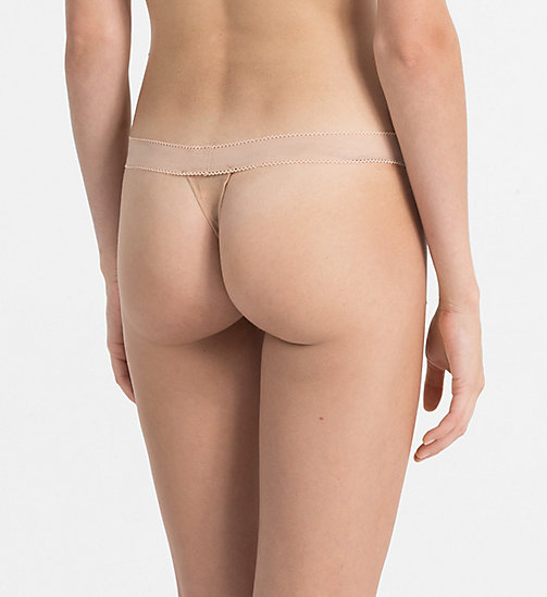 CALVINKLEIN Thong - Icon - BARE - CALVIN KLEIN THONGS - detail image 1