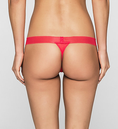 CALVINKLEIN Thong - Icon - SULTRY - CALVIN KLEIN WOMEN - detail image 1