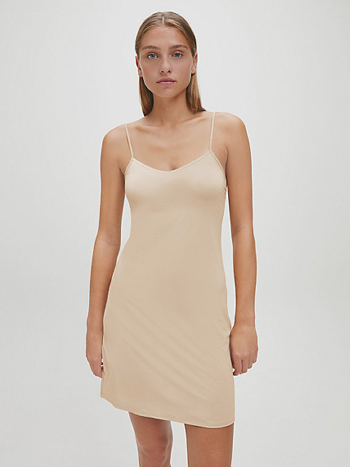 CALVINKLEIN Full Slip - Icon - BARE - CALVIN KLEIN WOMEN - main image