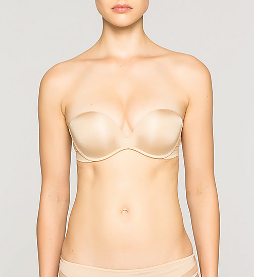 CALVINKLEIN Push-Up Bra - Push Positive - BARE - CALVIN KLEIN STRAPLESS BRAS - main image