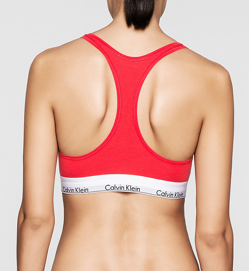 CALVINKLEIN Bralette - Modern Cotton - EVOCATIVE RED (CLASSIC WB) - CALVIN KLEIN WOMEN - detail image 1