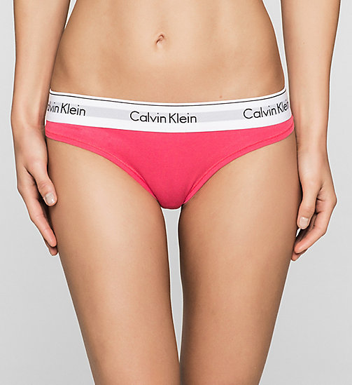 CALVINKLEIN Thong - Modern Cotton - SULTRY - CALVIN KLEIN NEW ARRIVALS - main image