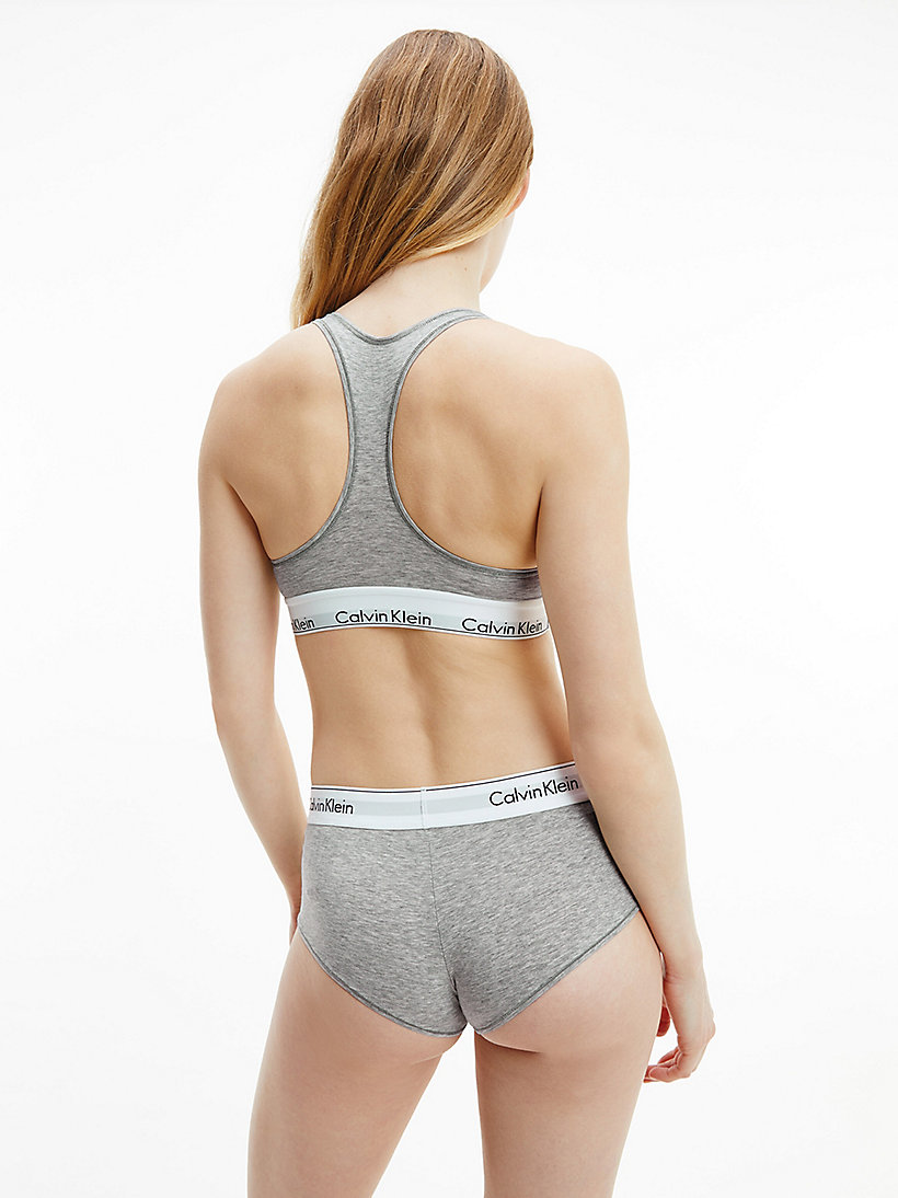 CALVINKLEIN Shorty - Modern Cotton - GREY HEATHER - CALVIN KLEIN SOUS-VÊTEMENTS - image détaillée 2