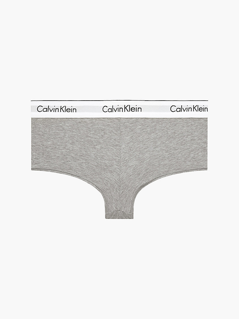 CALVINKLEIN Shorty - Modern Cotton - GREY HEATHER - CALVIN KLEIN SOUS-VÊTEMENTS - image principale