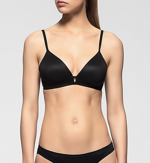 CALVINKLEIN T-shirt Bra - Perfectly Fit - BLACK - CALVIN KLEIN T-SHIRT BRAS - main image