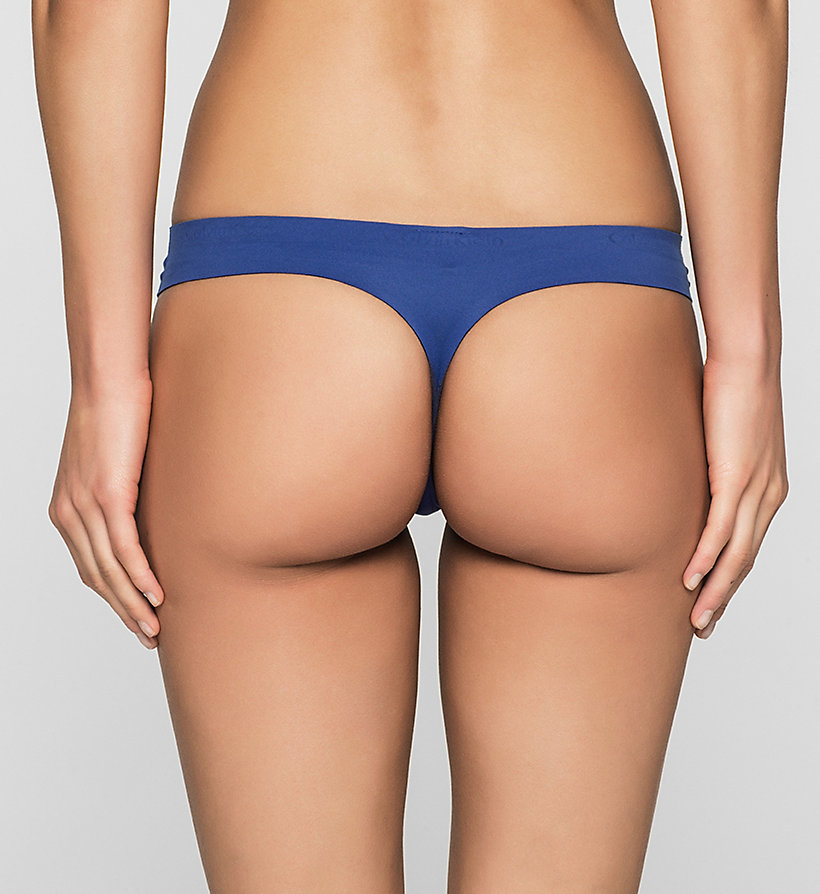 CALVINKLEIN Thong - Perfectly Fit - DARK MIDNIGHT - CALVIN KLEIN UNDERWEAR - detail image 1