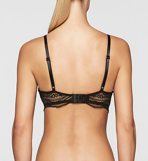 Push-Up Bra - Infinite Lace - BLACK - CALVIN KLEIN UNDERWEAR - detail image 1