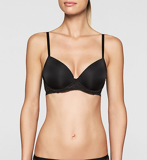 Push-Up Bra - Infinite Lace - BLACK - CALVIN KLEIN UNDERWEAR - main image