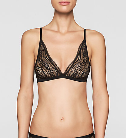 CALVIN KLEIN Triangle Bra - Infinite Lace 0000F3906E001