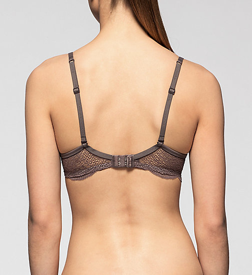 Push-Up Bra - Perfectly Fit - SMOKE - CALVIN KLEIN UNDERWEAR - detail image 1