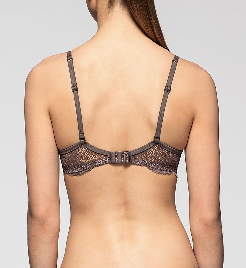 CALVINKLEIN Push-Up Bra - Perfectly Fit - SMOKE - CALVIN KLEIN UNDERWEAR - detail image 1