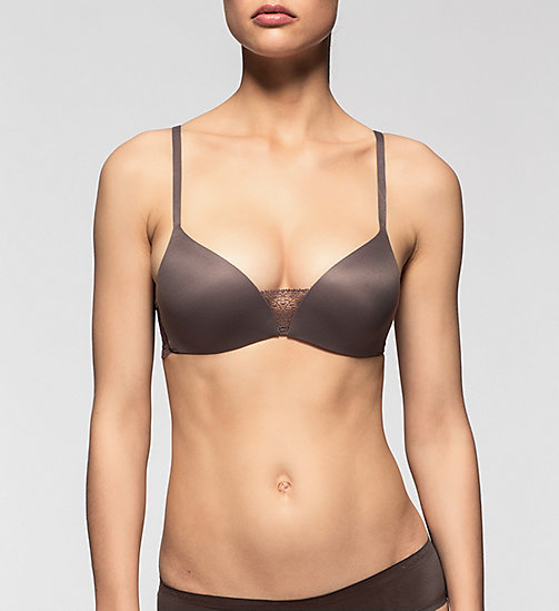 Push-Up Bra - Perfectly Fit - SMOKE - CALVIN KLEIN UNDERWEAR - main image