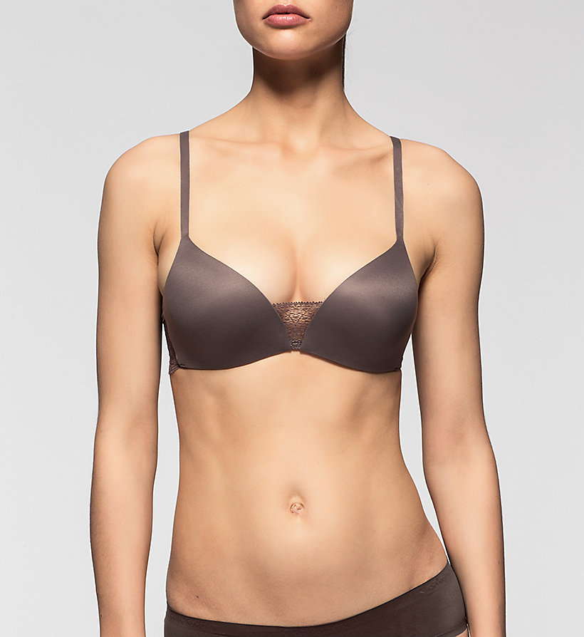 CALVINKLEIN Push-Up Bra - Perfectly Fit - SMOKE - CALVIN KLEIN UNDERWEAR - main image