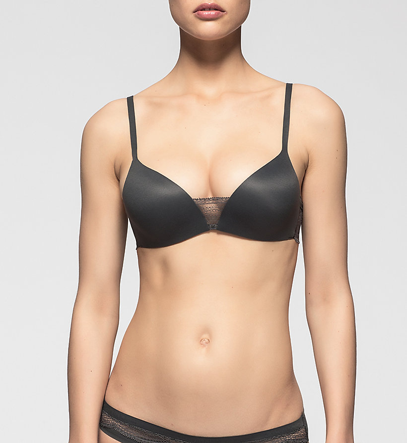 CALVINKLEIN Push-Up Bra - Perfectly Fit - ASHFORD GRAY - CALVIN KLEIN UNDERWEAR - main image