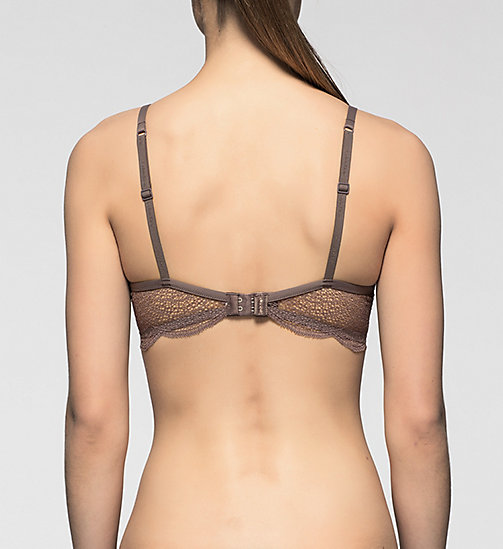 CALVINKLEIN T-shirt Bra - Perfectly Fit - SMOKE - CALVIN KLEIN WOMEN - detail image 1