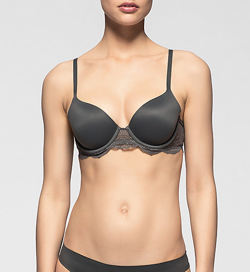 T-shirt Bra - Perfectly Fit - ASHFORD GRAY - CALVIN KLEIN UNDERWEAR - main image