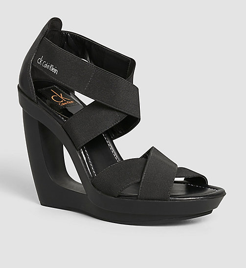 Sandals - BLACK/BLACK - CALVIN KLEIN  - main image