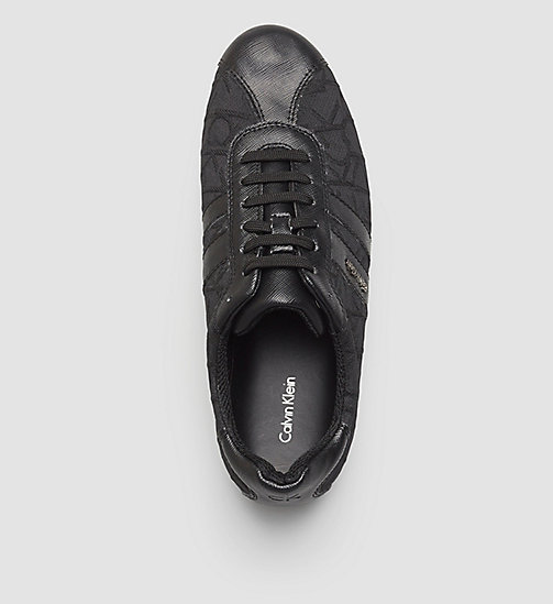 3D Jacquard Logo Sneakers - BLACK/BLACK/BLACK - CALVIN KLEIN SHOES & ACCESSORIES - detail image 1