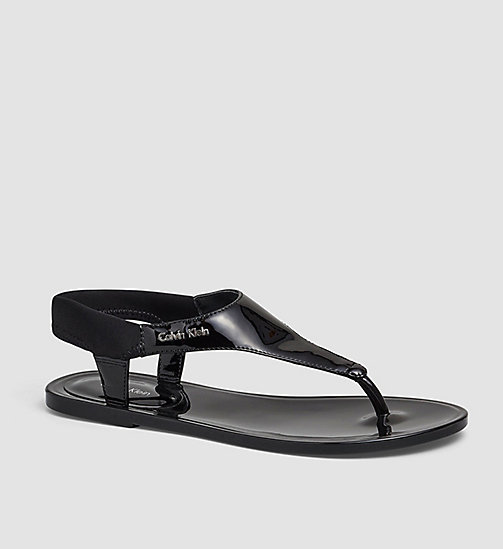 Sandals - BLACK /  BLACK - CALVIN KLEIN SHOES & ACCESSORIES - main image
