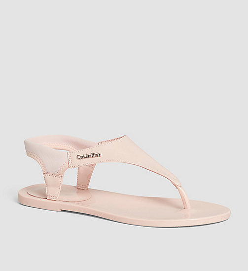 CALVINKLEIN Sandals - BLACK/PETAL PINK - CALVIN KLEIN SHOES - main image