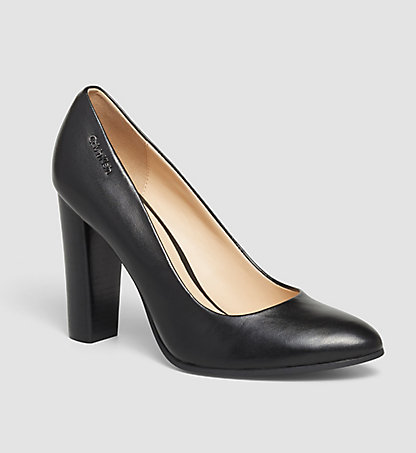 CALVIN KLEIN Leather Pumps - Jyler 0000N11742BLK
