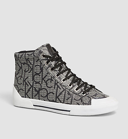 CALVIN KLEIN High-Top Sneakers - Gitta 0000N12060GRI