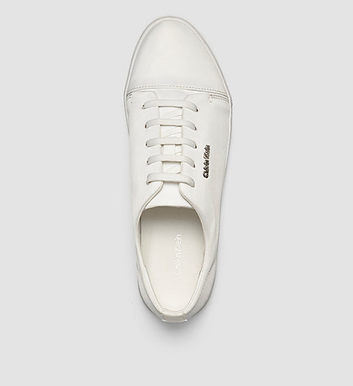 Sneakers - WHITE/WHITE - CALVIN KLEIN SHOES & ACCESSORIES - detail image 1
