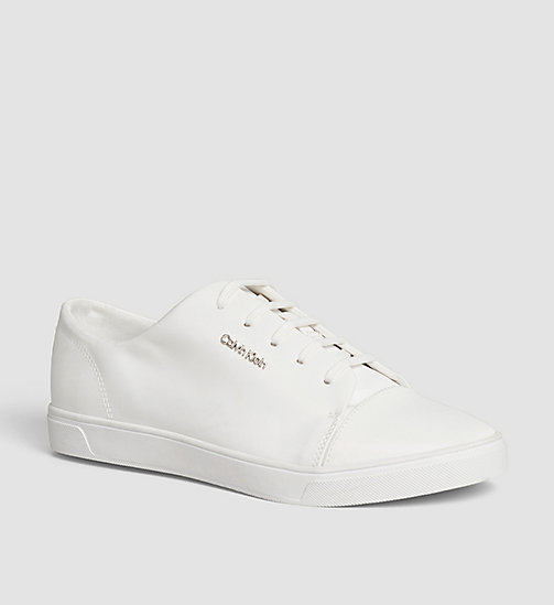 CALVINKLEIN Sneakers - WHITE/WHITE - CALVIN KLEIN SHOES - main image