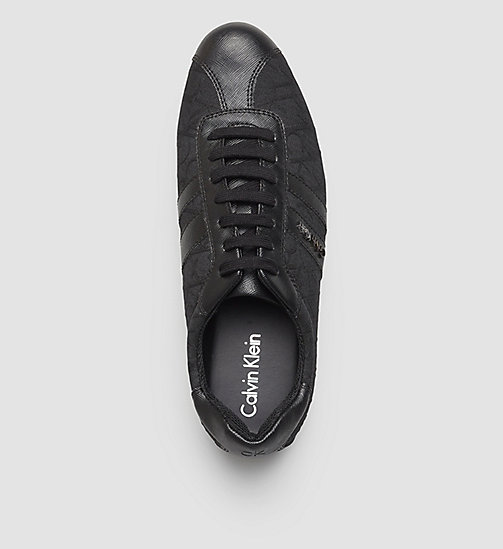 3D Logo Jacquard Sneakers - BLACK/BLACK/BLACK - CALVIN KLEIN SHOES & ACCESSORIES - detail image 1