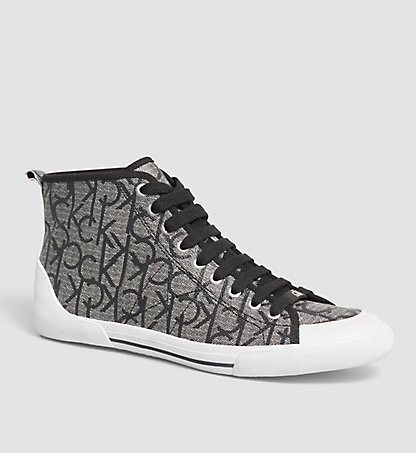 CALVIN KLEIN High-Top Sneakers - Moda 0000O11090GRI