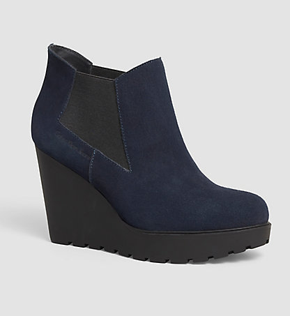 CALVIN KLEIN JEANS Bottines en daim 0000RE9004MNT